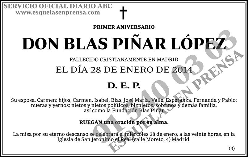Blas Piñar López